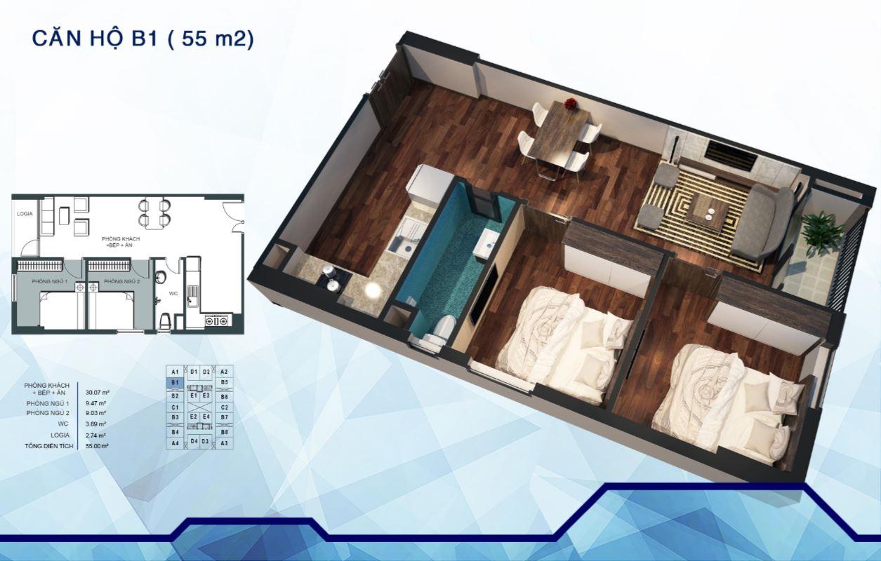 Cách xác định hướng chính của căn hộ chung cư