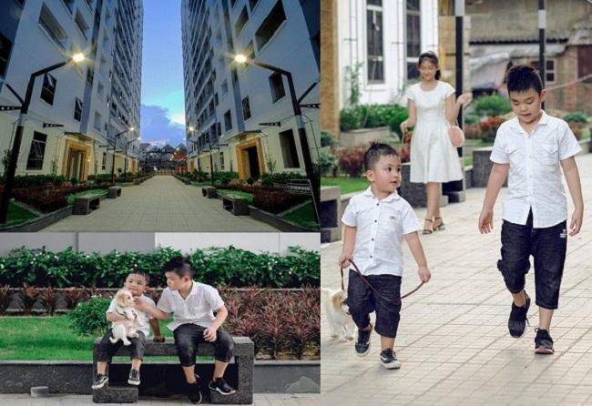 Đây là dự án xây dựng chung cư đầu tiên hứa hẹn mang không gian xanh vào cuộc sống.
